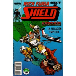 NICK FURIA AGENTE DE SHIELD Núm 8