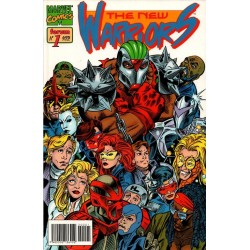 THE NEW WARRIORS VOL 2 Núm 1