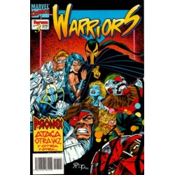 THE NEW WARRIORS VOL 2 Núm 3