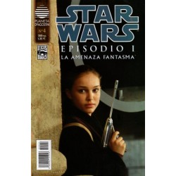 STAR WARS . EPISODIO I. LA AMENAZA FANTASMA Núm 4