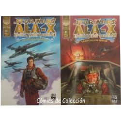 STAR WARS: ALA-X ESCUADRÓN REBELDE. LA OPOSICIÓN REBELDE. COMPLETA