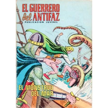 "EL GUERRERO DEL ANTIFAZ Núm. 240 ""EL MONSTRUO DEL MAR"""