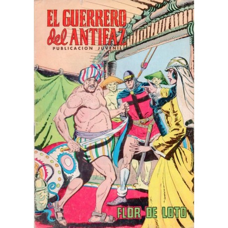"EL GUERRERO DEL ANTIFAZ Núm. 255 ""FLOR DE LOTO"""