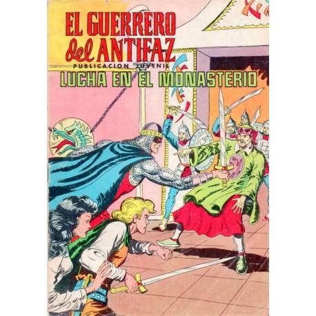 """""""EL GUERRERO DEL ANTIFAZ Núm. 261 """"LUCHA EN EL MONASTERIO"""""""