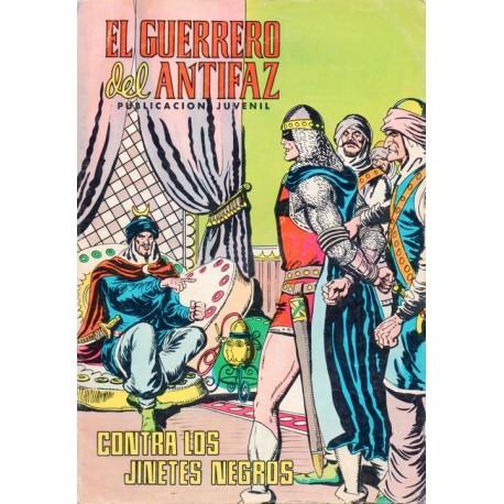 """EL GUERRERO DEL ANTIFAZ Núm. 317 """"CONTRA LOS JINETES NEGROS"""""""
