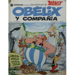 UNA AVENTURA DE ASTERIX: OBÉLIX Y COMPAÑÍA
