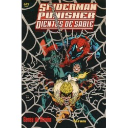 SPIDERMAN/ PUNISHER/ DIENTES DE SABLE: GENES DE DISEÑO