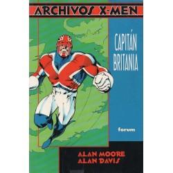 ARCHIVOS X-MEN Núm 5: CAPITÁN BRITANIA