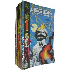 LEGION DE SUPERHEROES. COMPLETA + 2 ESPECIALES