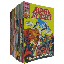 ALPHA FLIGHT. COMPLETA + 1 ESPECIAL