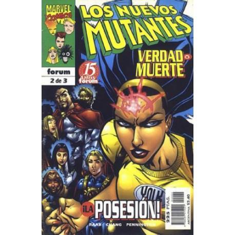 LOS NUEVOS MUTANTES: VERDAD O MUERE Núm 2