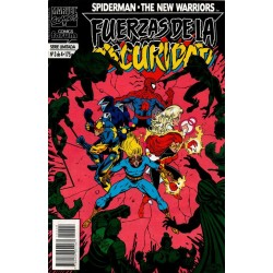 SPIDERMAN/ NEW WARRIORS: FUERZAS DE LA OSCURIDAD. Núm 3