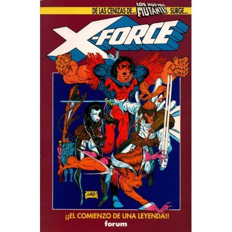 X-FORCE: EL ORIGEN DE UN MITO