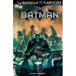 BATMAN: LA BATALLA POR LA CAPUCHA, COMPENDIO