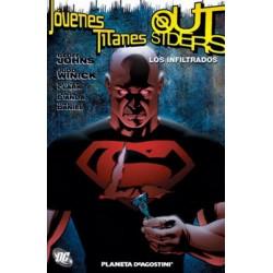 JÓVENES TITANES/ OUTSIDERS: LOS INFILTRADOS