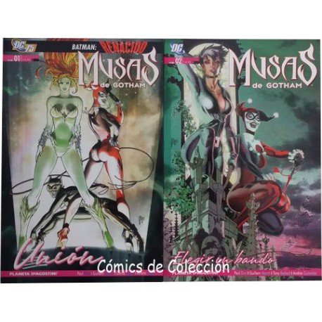 MUSAS DE GOTHAM COMPLETA