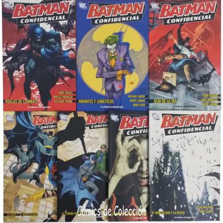 BATMAN: CONFIDENCIAL COMPLETA