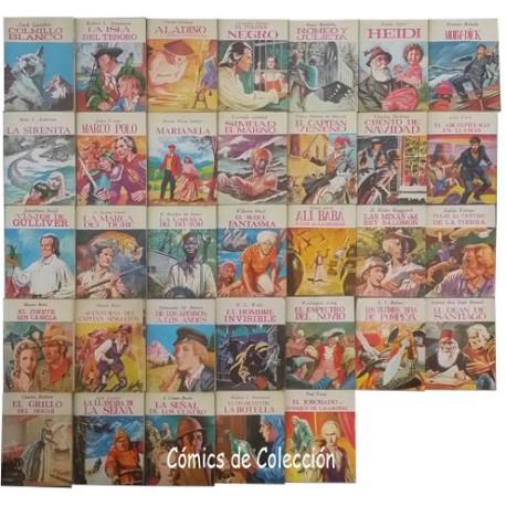 LOTE 33 MINIBIBLIOTECA DE LA LITERATURA UNIVERSAL