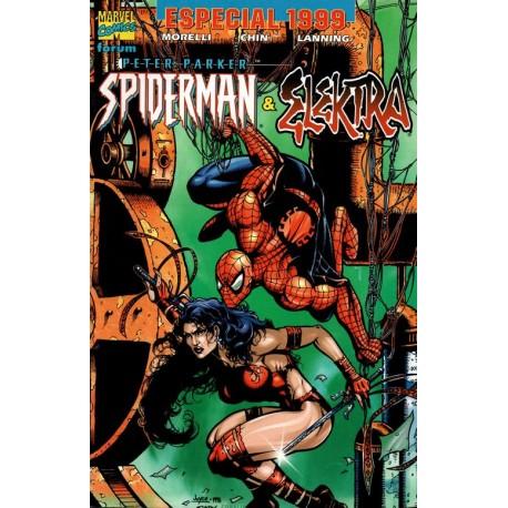 ESPECIAL PETER PARKER SPIDERMAN 99: ELEKTRA