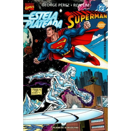 ESTELA PLATEADA VS. SUPERMAN