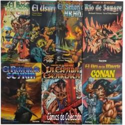 CONAN EL BÁRBARO SERIES LIMITADAS COMPLETA
