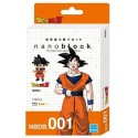 NANOBLOCK DRAGON BALL Z Núm. 1 GOKU