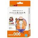 NANOBLOCK DRAGON BALL Z Núm. 6 MASTER ROSHI