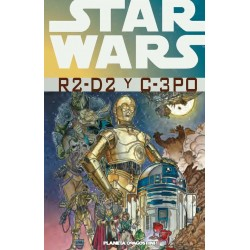 STAR WARS R2-D2 Y C-3 PO