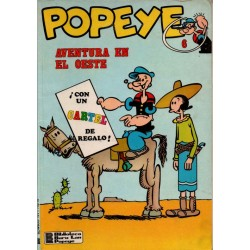 POPEYE Núm 6: AVENTURA EN EL OESTE
