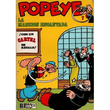 POPEYE Núm 7: LA MANSIÓN ENCANTADA