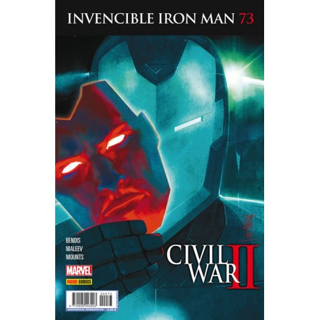 INVENCIBLE IRON MAN Núm. 73 CIVIL WAR II