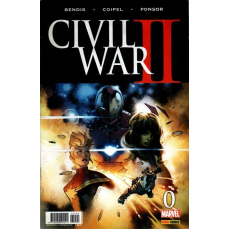 CIVIL WAR II Núm. 0