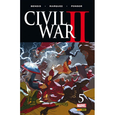 CIVIL WAR II Núm. 5