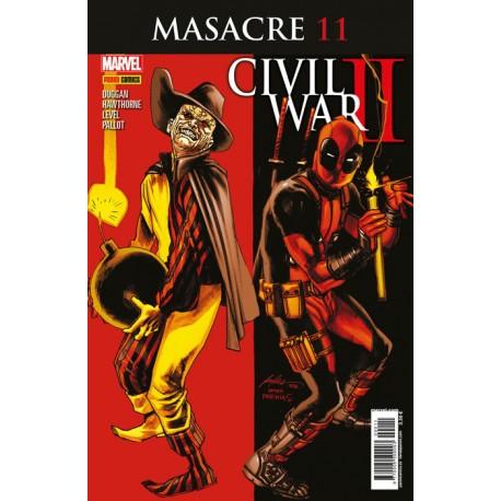 MASACRE Vol 3 Núm 11 CIVIL WAR II