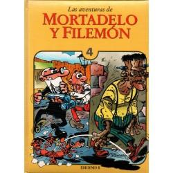 LAS AVENTURAS DE MORTADELO Y FILEMÓN Núm 4
