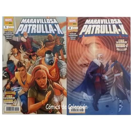 LA ERA DE HOMBRE-X: MARAVILLOSA PATRULLA-X COMPLETA