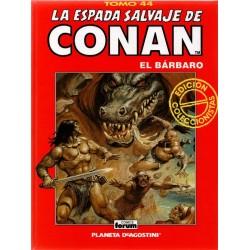 LA ESPADA SALVAJE DE CONAN. EDICIÓN COLECCIONISTA. Núm 44