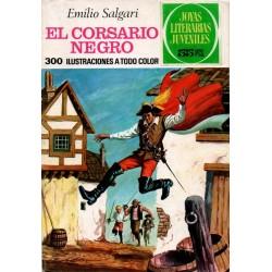 JOYAS LITERARIAS JUVENILES. Núm 95. EL CORSARIO NEGRO