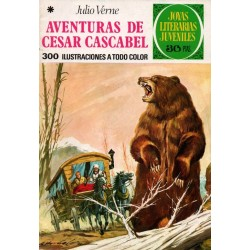 JOYAS LITERARIAS JUVENILES. Núm 104. AVENTURAS DE CESAR CASCABEL