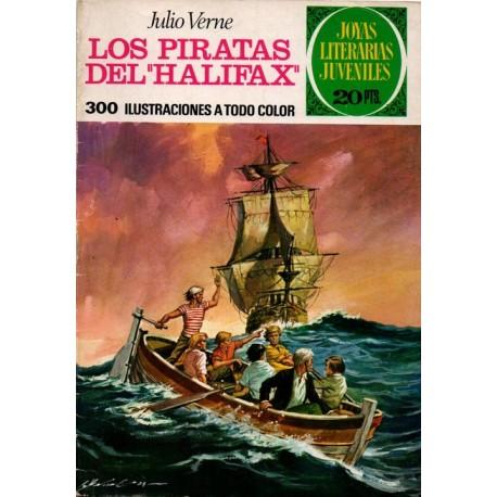 """JOYAS LITERARIAS JUVENILES. Núm 133, LOS PIRATAS DEL """"HALIFAX"""""""
