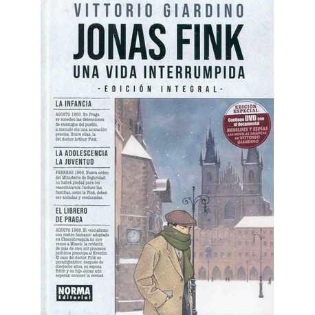 JONAS FINK. UNA VIDA INTERRUMPIDA. EDICIÓN INTEGRAL+ DVD