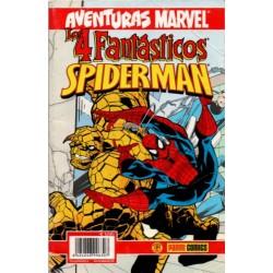 AVENTURAS MARVEL: SPIDERMAN Y LOS 4 FANTÁSTICOS