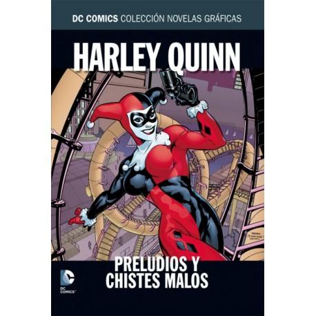 DC COMICS COLECCIÓN NOVELAS GRÁFICAS Núm. 9: HARLEY QUINN. PRELUDIOS Y CHISTES MALOS