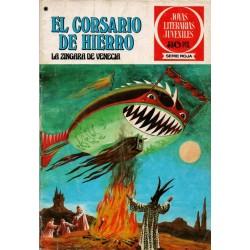 """EL CORSARIO DE HIERRO Núm. 39 """"LA ZINGARA DE VENECIA"""""""