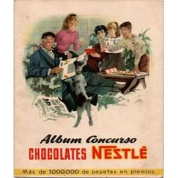 ALBUM CONCURSO CHOCOLATES NESTLÉ