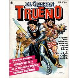 EL CAPITÁN TRUENO Núm. 8