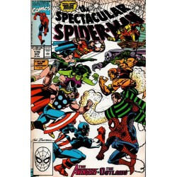 THE SPECTACULAR SPIDERMAN VOL 1 Núm 170