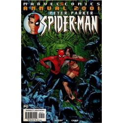 PETER PARKER, SPIDER-MAN ANNUAL 2001