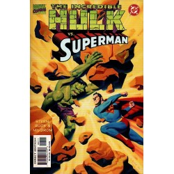 THE INCREDIBLE HULK VS. SUPERMAN