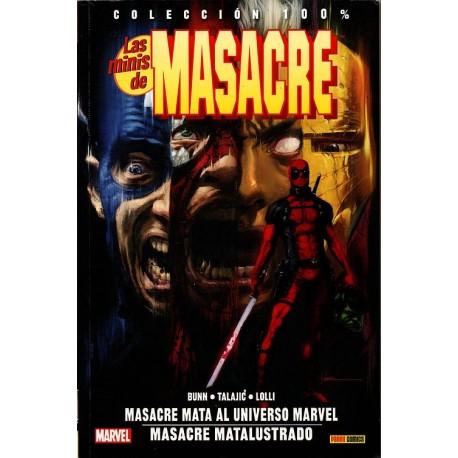 LAS MINIS DE MASACRE Núm 2: MASACRE MATA AL UNIVERSO MARVEL/ MASACRE MATALUSTRADO